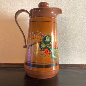 Vintage 70s Woodland Interpur Thermos / Pitcher